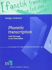 phonetic transcription Holger Scmitt