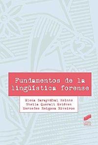 Fundamentos De La Lingüística forense