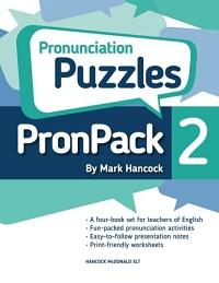 PronPack 2 Pronunciation Puzzles Volume 2- Mark Hancock
